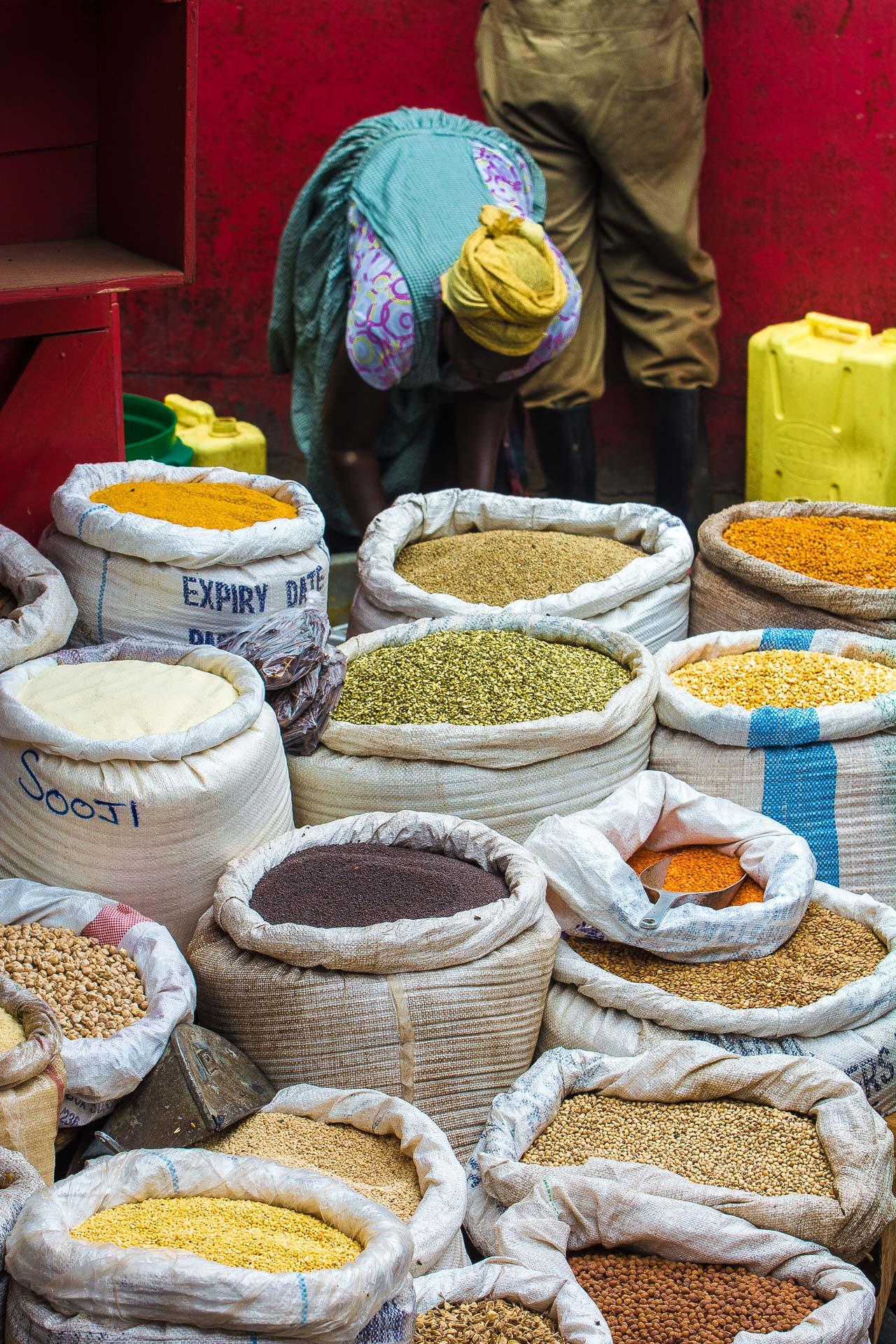 Nakasero Market, Kampala, Uganda
