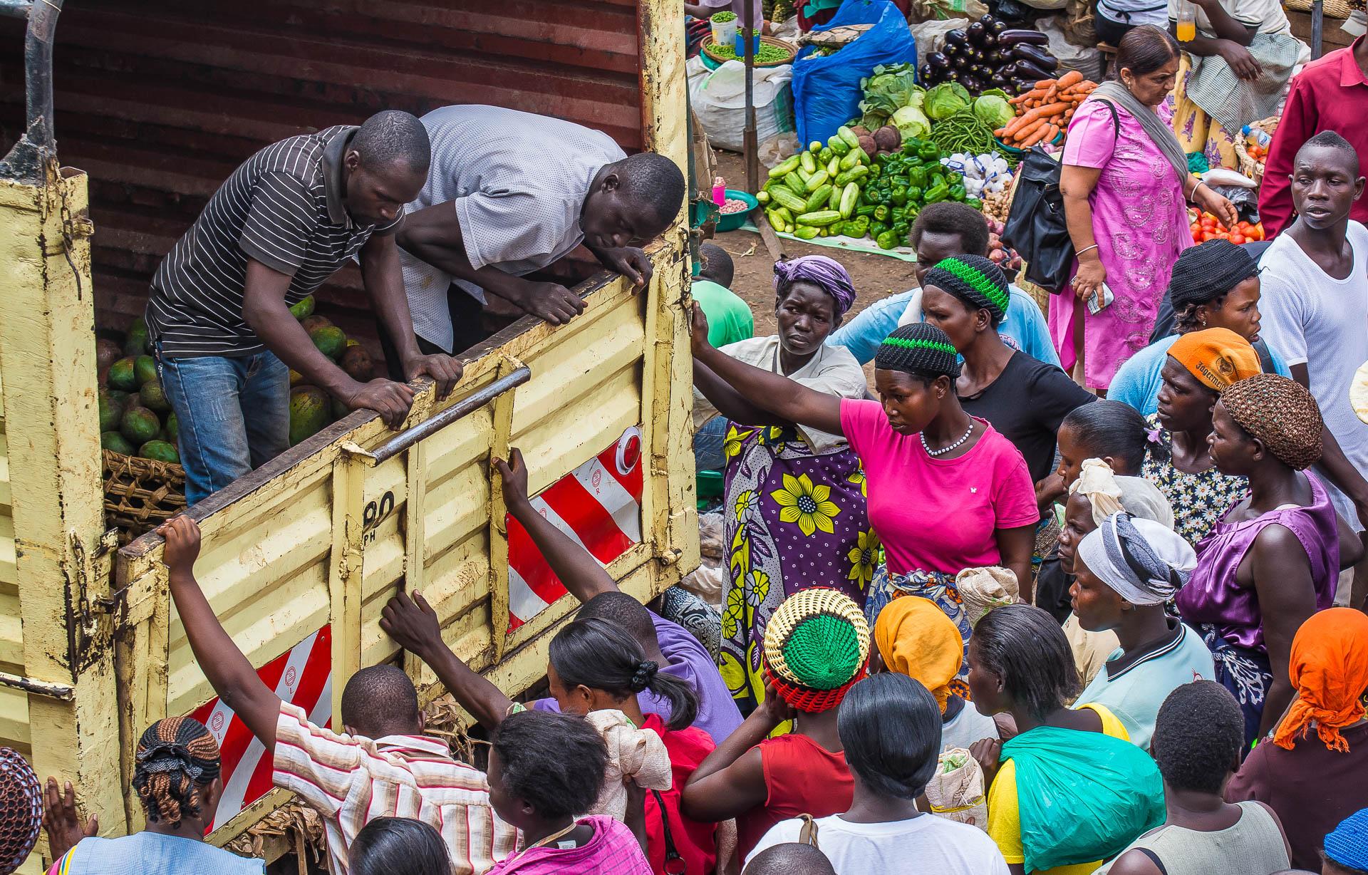 Nakasero Market Kampala, Uganda