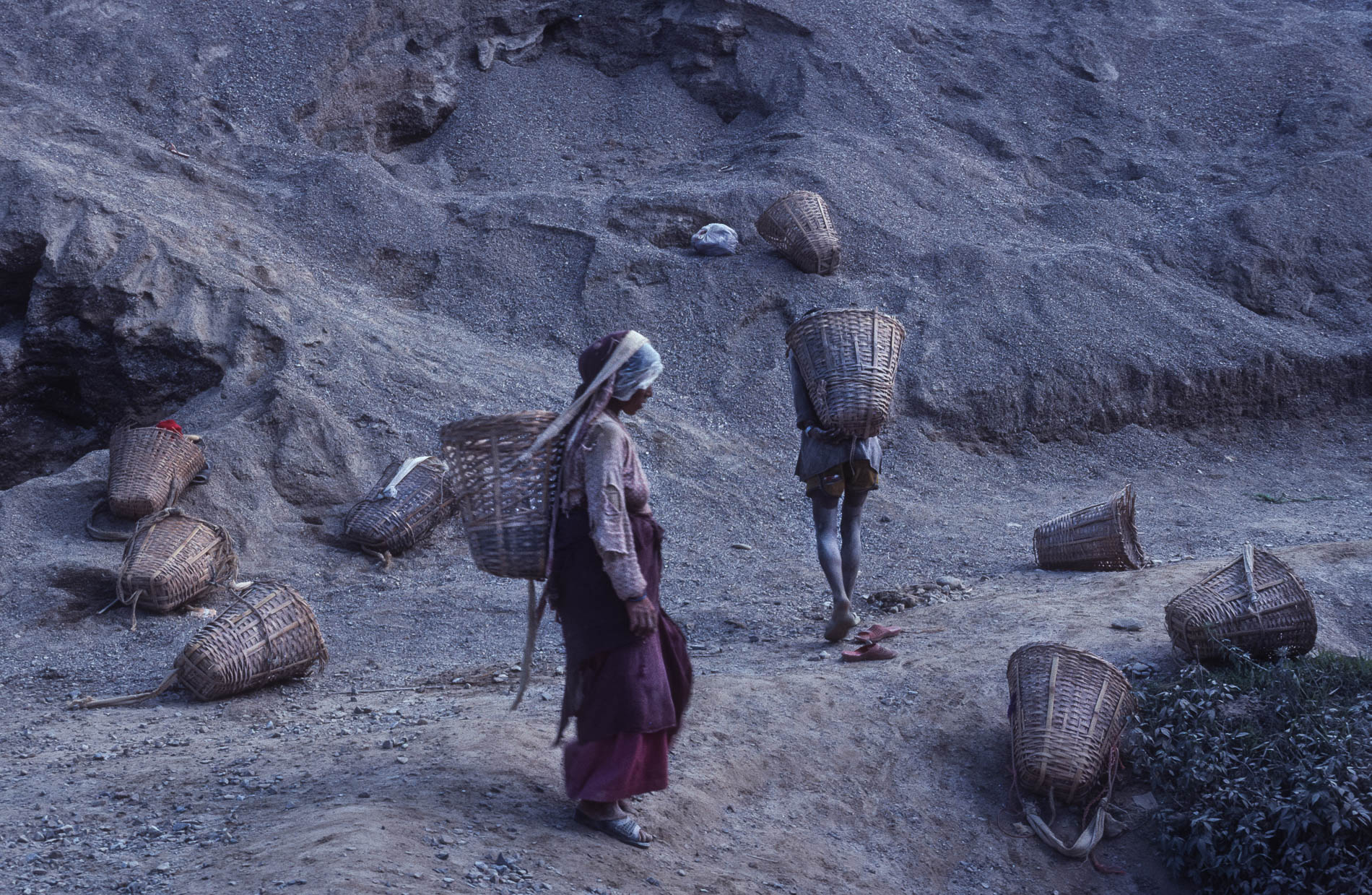 Cement Workers, Nepal