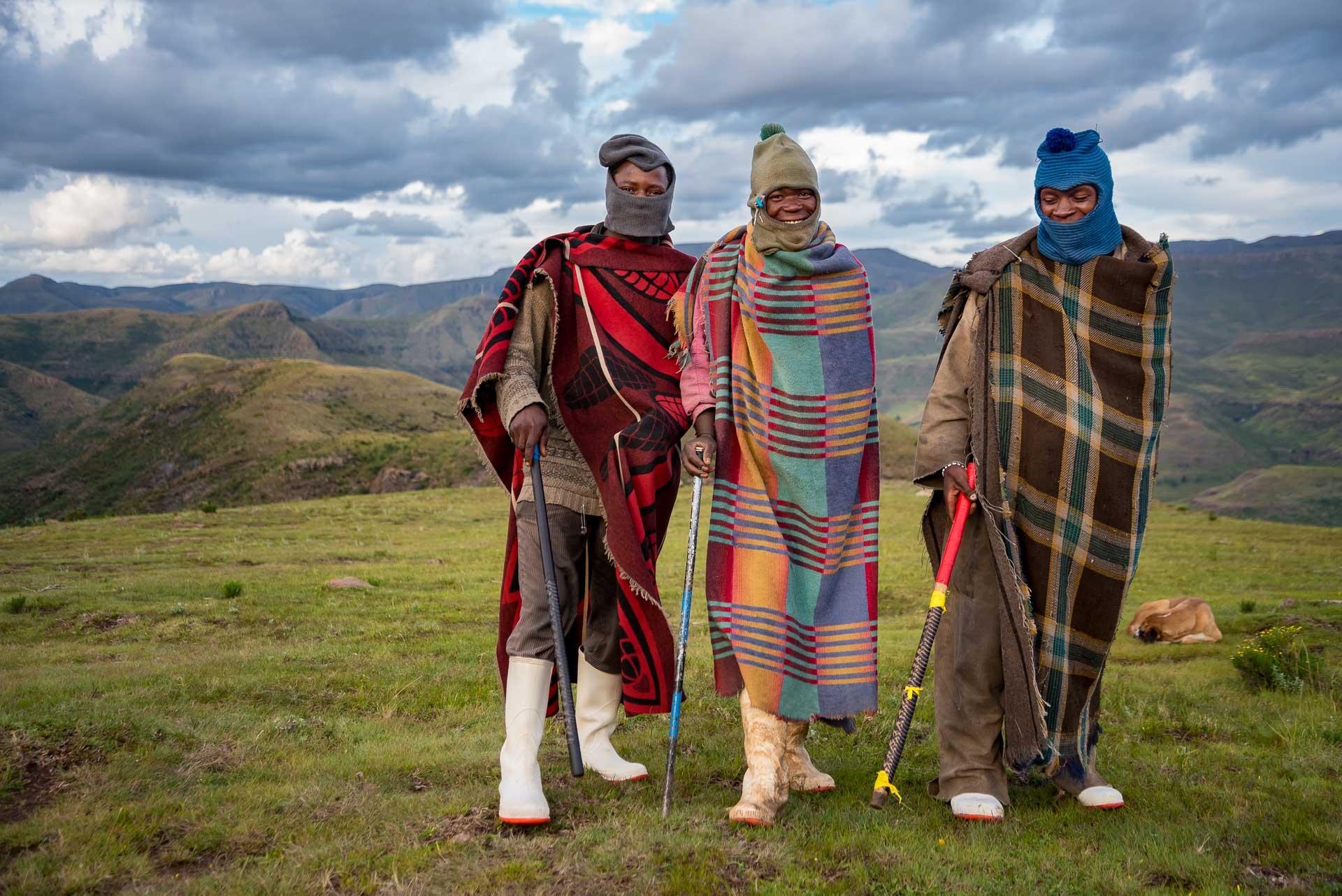 Shepherds, Lesotho