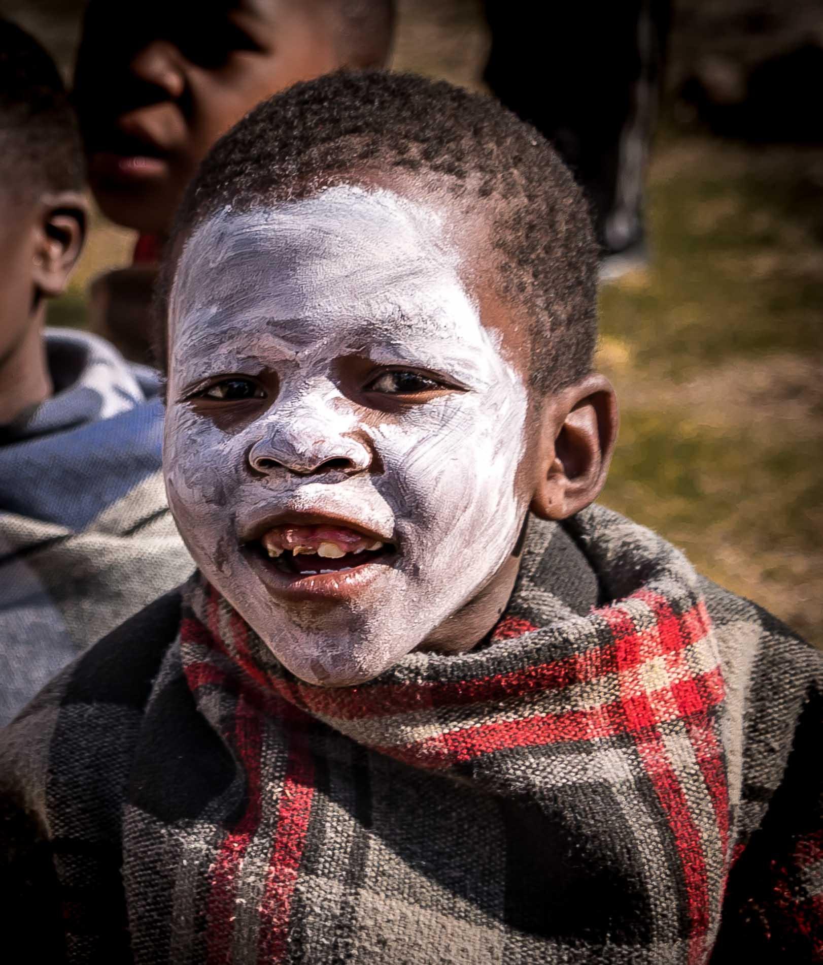 Basoto boy, Lesotho