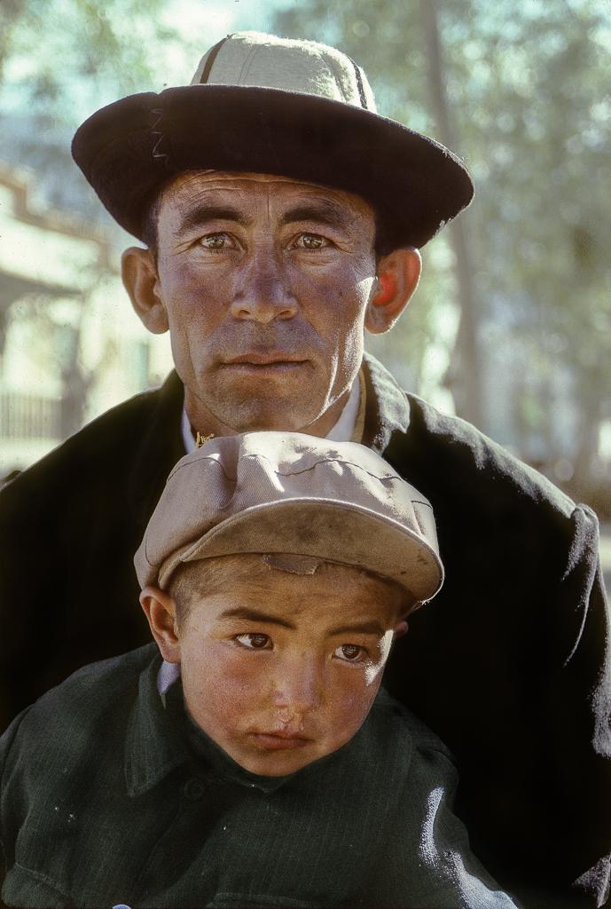 Father and Son, Tashkurgan, China