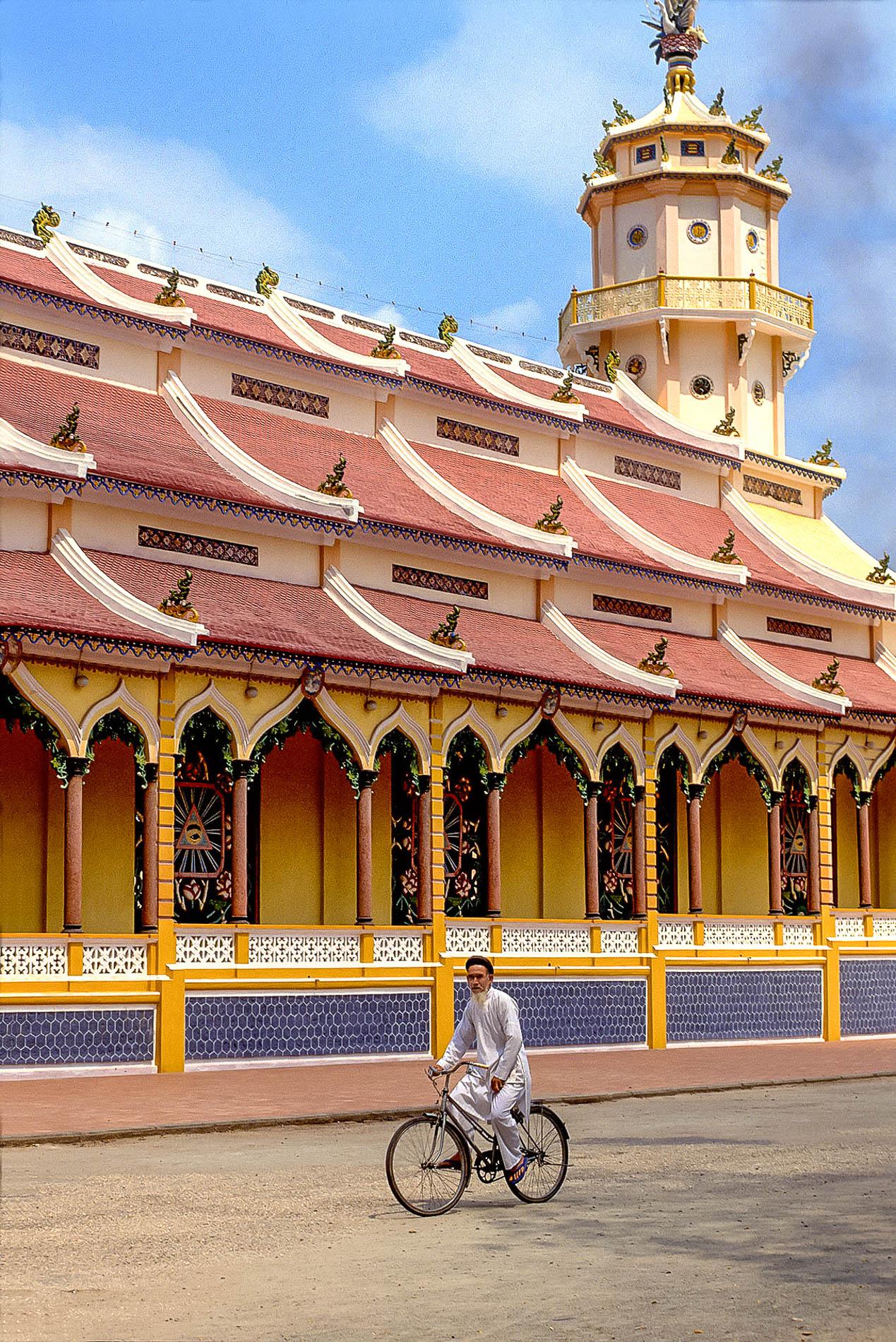 Caodai Temple, Vietnam